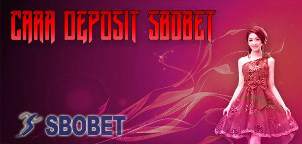cara deposit sbobet