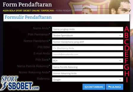 daftar sbobet Indonesia